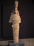 'Great Artemis' headdress hasa temple on top.