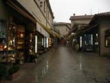 Stretch of souvenir shops