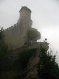 Guaita tower from below