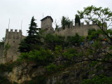 Walls below Guaita tower
