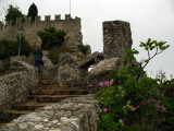 Back up the steps to Guaita