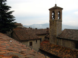 Rooftops and belltower