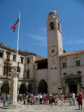 Luža square and Clock Tower