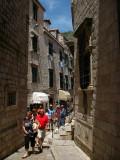 Walking through the backstreets