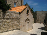 Sealed old chapel