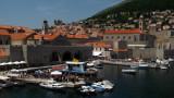 Old harbor of Dubrovnik