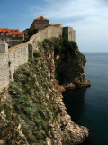 Clifftop stretch of wall