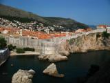 Dubrovnik's old town from Lovrijenac