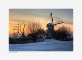Kinderdijk - winter 2012