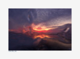 Sunset through Ice