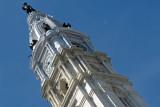 City Hall Tower & Cresent Moon