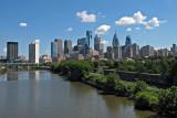 Philadelphia Skyline from the New South Street Bridge