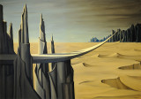 Danger, Construction Ahead - Kay Sage
