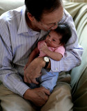 Dad With Zoe, 2007