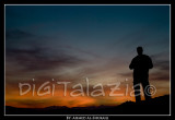 Sunset sihouette - Photographer