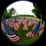 33,000 flags on Boston Common for Memorial Day