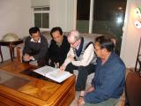 Thầy Ðặng Trần Dý cùng hoc sinh Kỹ Thuật 2008