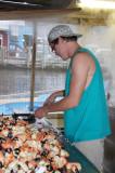 Opening night of Stone Crab Season, October 15, 2011
