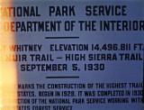 Summit of Mt. Whitney 1969