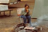 Cindy, Yosemite Campground 1978
