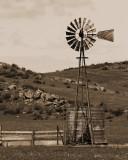 Windmill, Menifee Valley, CA