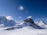 Klein Matterhorn, Riffelhorn and Matterhorn