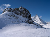 Riffelhorn and Matterhorn