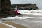 Red Skirt & Surf