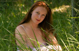 Lacey in Tall Grass