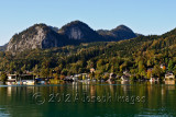 Pictureque St Wolfgang and Lake Wolfgangsee