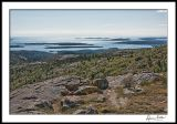 Cranberry Islands from Cadillac Mountain