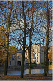 Van Ham Castle and five lime trees