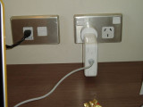 NZ power plug with Apple charger