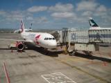 Czech Jet on the Auckland-Noumea run (rent-a-jet for Air Calie)