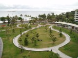 View from the Noumea apartment