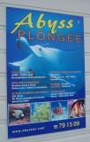 dive shop sign at Port du Sud