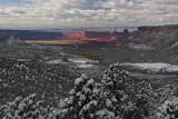 Snow Above, Desert Below