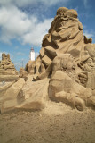 Sandsculpture contest Noordwijk