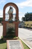 Monumento a San Jose al Ingreso de la Poblacion