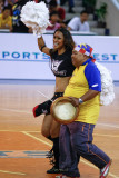 Fan with cheerleaders (WS2197.jpg)