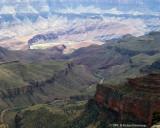 Colorado River and the Unkar Delta