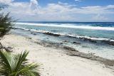 0642 Shoreline with Raiatea and Taha'a as a backdrop