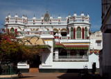 Chettinad Palace in Kanadukathan