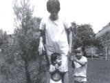 Mami, David, José R. y Moisés en camino