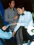 Recibiendo el diploma de 6to Grado