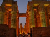 An evening stroll through Luxor Temple