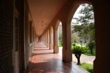 Ursuline Sisters' Gallery Overlooking Courtyard