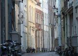 Medieval street scene