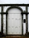 A church entry.