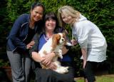 Yuni, Sue and Natalie